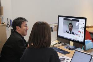 大分の清家さんとビデオ会議!_清家巧貴税理士事務所プロジェクトイメージ