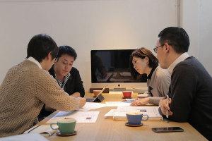 みんなで外構の社内打ち合わせ_愛知土地区画整理綜合事務所プロジェクトvol.21イメージ