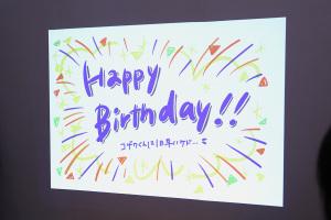 誕生日祝ってもらいました!!イメージ