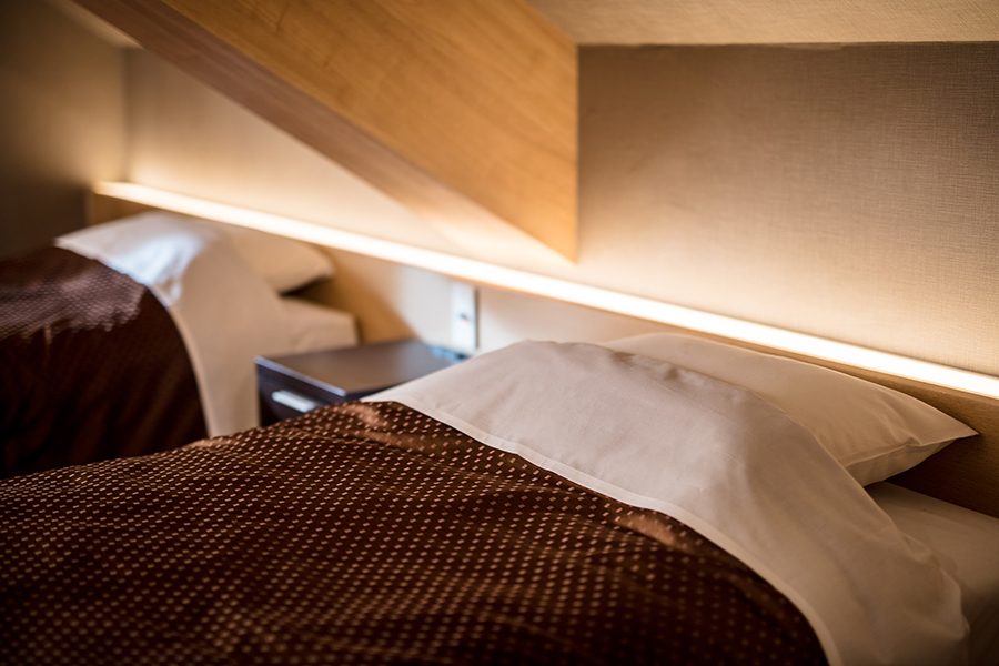 ホテルのインテリアデザイン