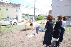 晴天の中、ついに地鎮祭!_HAIR ASTRIAプロジェクトvol.10イメージ