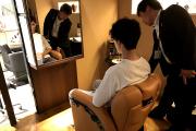 椅子との距離感を体感するためショールームへ!_HAIR ASTRIAプロジェクトvol.12