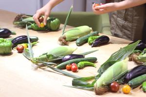 ヤマイチファームの採れたて野菜たち_リゾートインヤマイチプロジェクトイメージ
