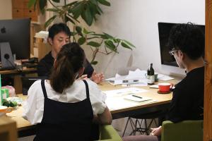 プロジェクトのアイデアは枝葉のように_K&Co.プロジェクトvol.02イメージ