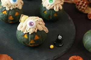 食欲の秋先取り!ハロウィンとお芋バームクヘンの撮影!_パティスリーエスプロジェクトイメージ