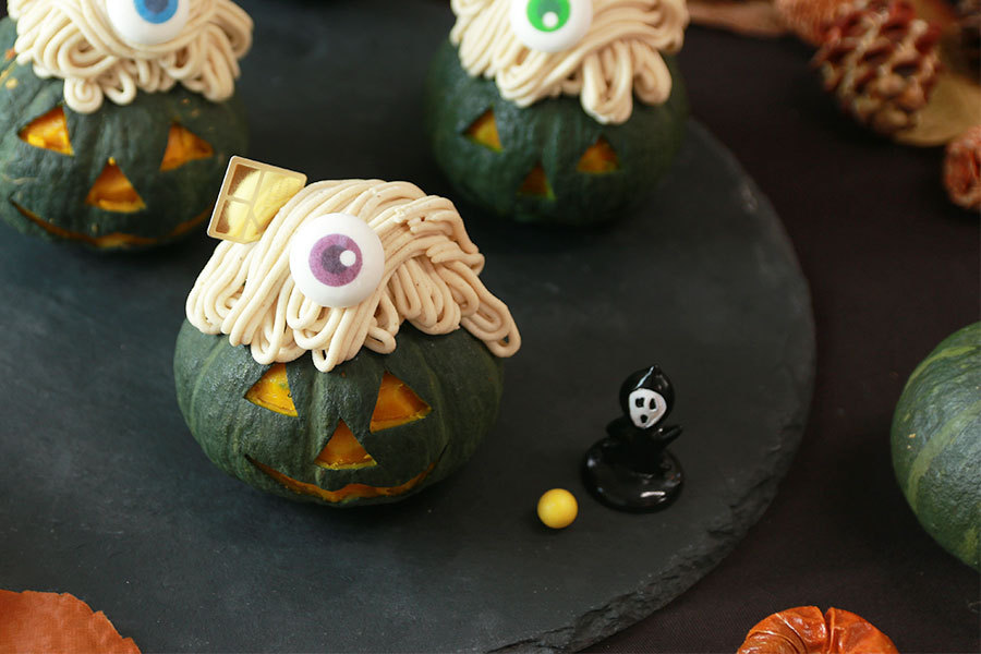 食欲の秋先取り!ハロウィンとお芋バームクヘンの撮影!_パティスリーエスプロジェクトメインイメージ