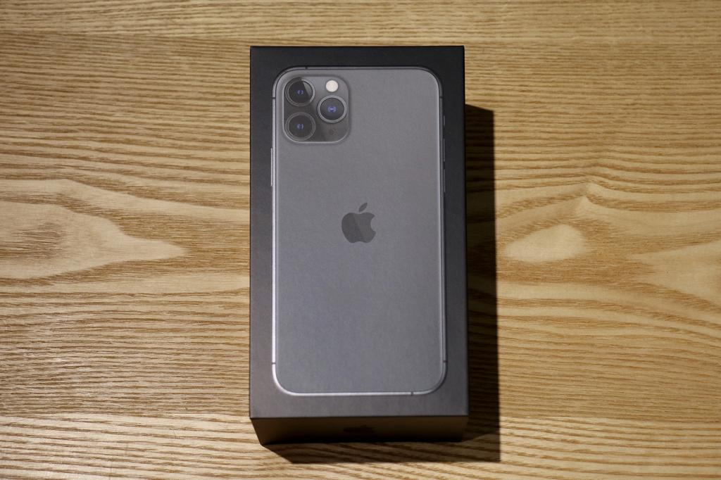 開けられない私〜iPhone11Pro