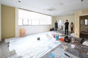 一部のスタッフと新事務所の見学に行って来ました!_KOM事務所移転プロジェクトイメージ