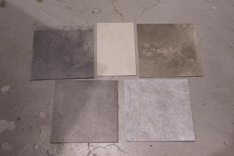 床材のサンプルもきました!_KOM事務所移転プロジェクトvol.09メインイメージ