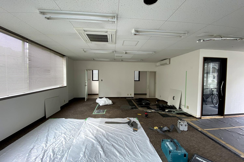 ブランディング事務所の改装工事