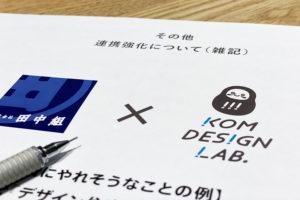 東京にて作戦会議_田中組プロジェクトイメージ