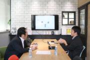 大きなことを2人で考えています_田中組プロジェクト
