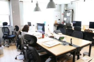 本日のKOM事務所の様子イメージ