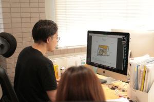 ロゴとネーミングとオフィスの打ち合わせ!_伴洋太郎税理士事務所プロジェクトイメージ