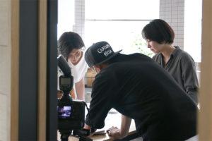 WEB用の写真撮影でした_成瀬建築設計事務所プロジェクトイメージ
