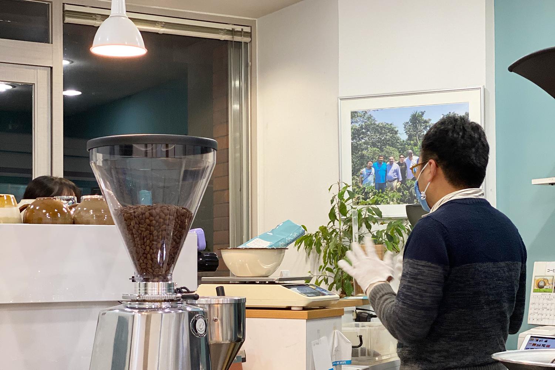 コーヒー焙煎店のブランディング