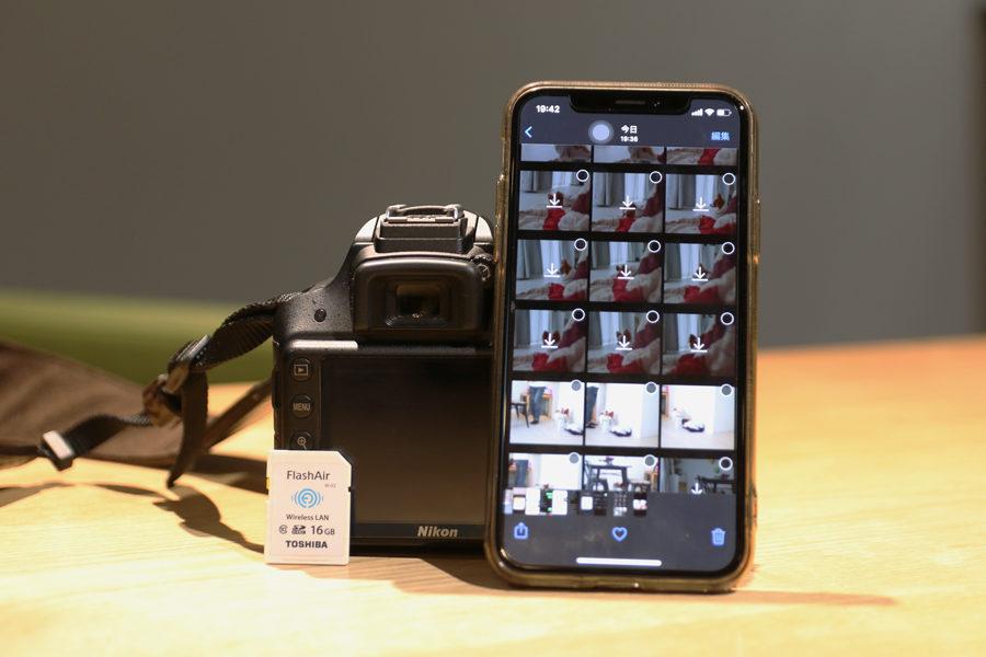 一眼レフからスマホに写真を送れるSDカード「FlashAir」メインイメージ