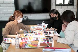 来年の手帳会議始まりました!_Y-Styleプロジェクトイメージ