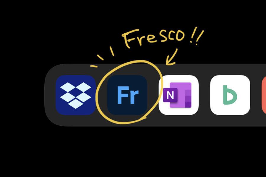 デジタルペインティング&描画アプリ AdobeのFresco!メインイメージ