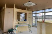 仕上げ工事が始まりました!!!_北山鍼灸院プロジェクト