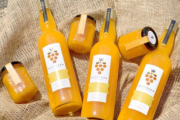 みかんジュースとみかんマーマレードジャム!_橘萄園プロジェクト