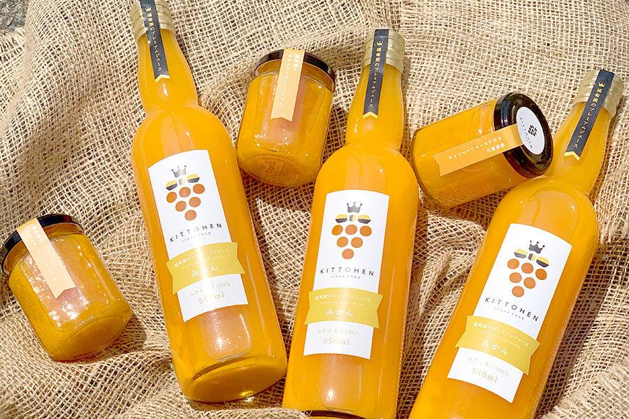 みかんジュースとみかんマーマレードジャム!_橘萄園プロジェクトメインイメージ