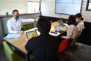 2回目はホームページのご提案!_陽だまりマンション税務事務所プロジェクトイメージ