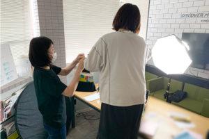 2022新商品の撮影を社内で行いました_Y-Styleプロジェクトイメージ