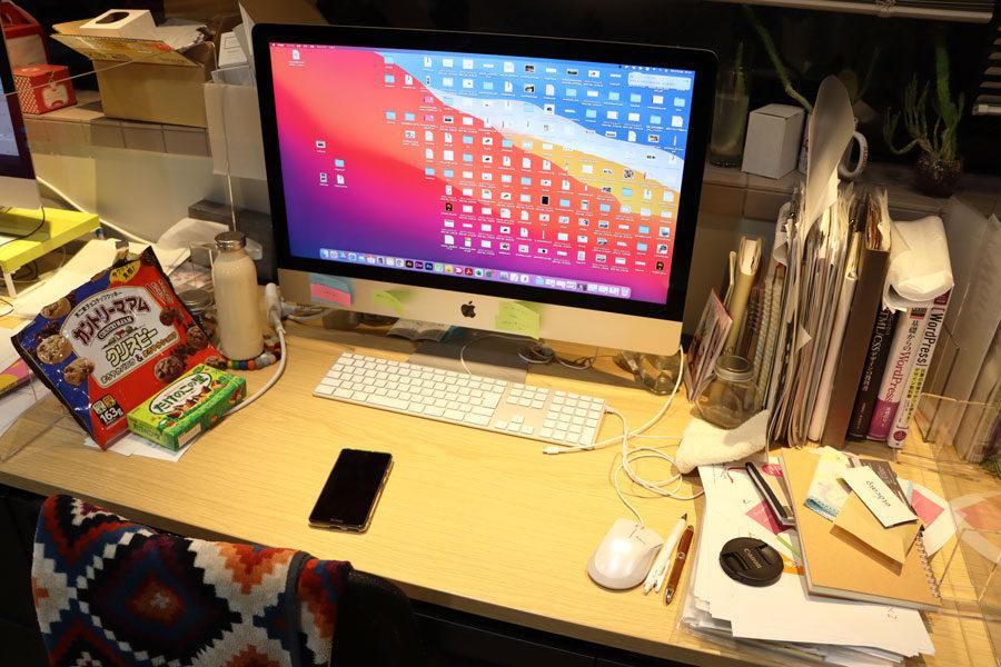 すでに新しいMacの面影がありませんメインイメージ