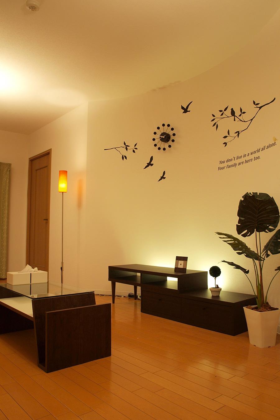 賃貸住宅の間接照明デザイン
