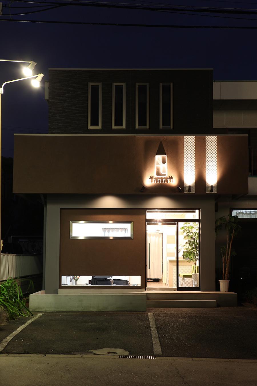 床屋の店舗デザイン