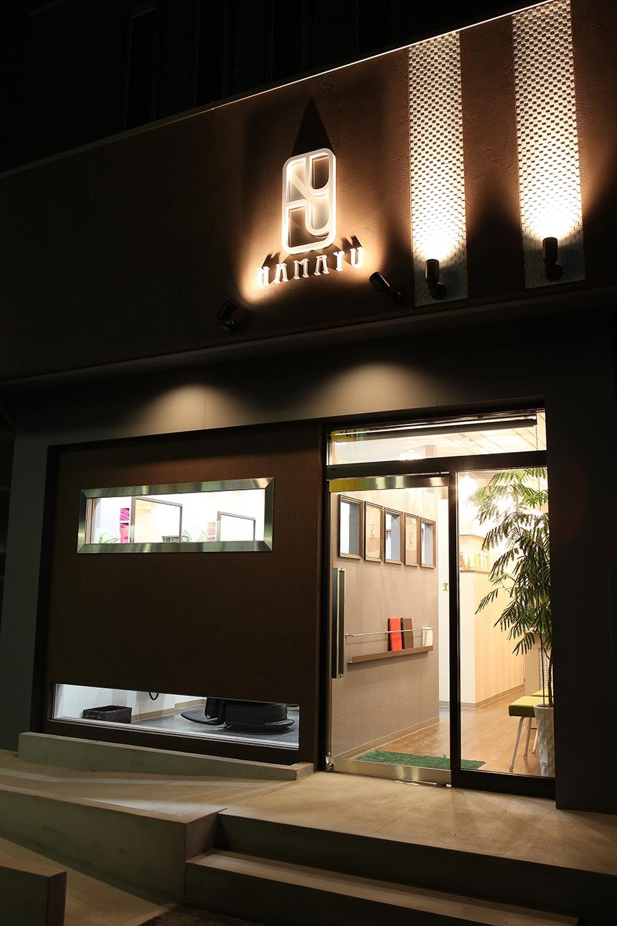 理容室の店舗デザイン