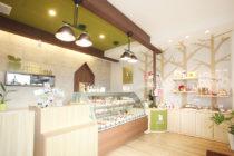 ケーキ屋の店舗デザイン_愛知県春日井市 cadeau de rincotté(カド・ドゥ・リンコット)サムネイル