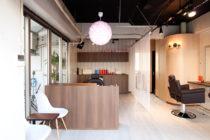 美容室の店舗デザイン_名古屋市岩塚 red clover(レッドクローバー)サムネイル