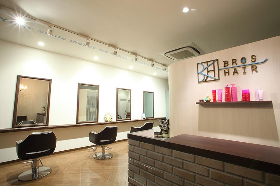 美容室のカウンターデザイン