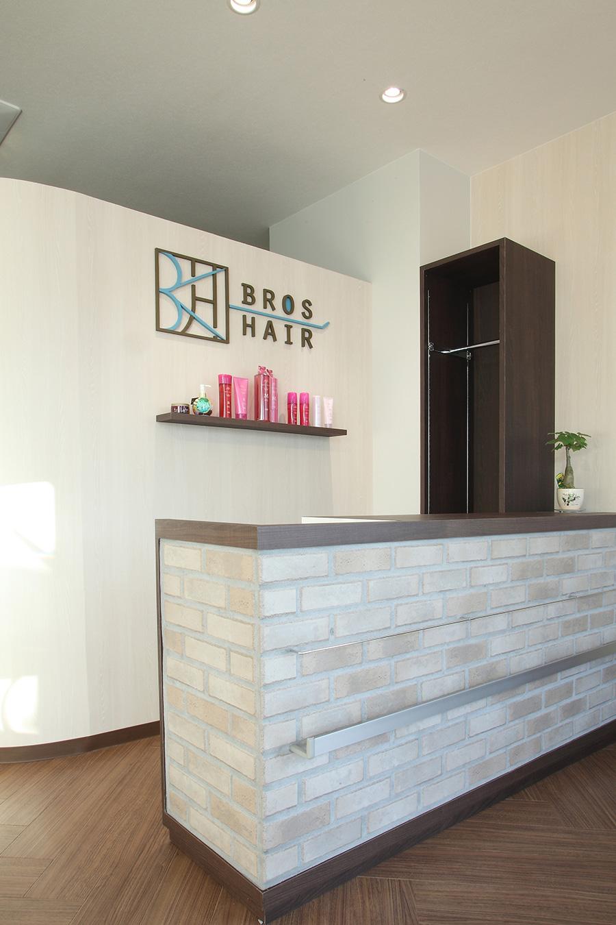 美容室のオリジナルカウンター