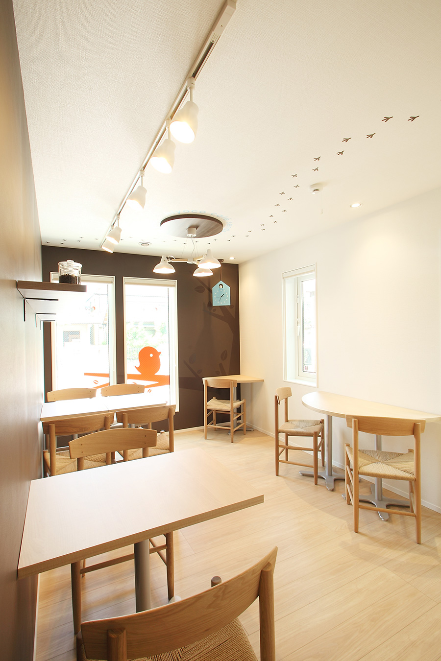 カフェの空間デザイン