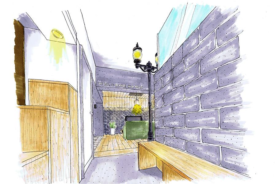 リノベーション住宅の完成イメージ