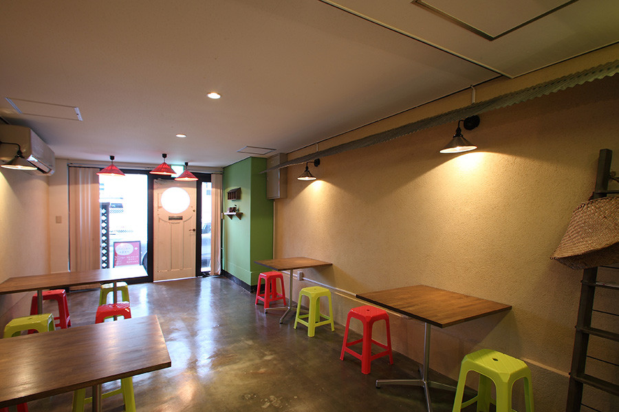 ベトナム料理店の店舗デザイン_名古屋市中区金山 ベトナミーズダイナー☆9サムネイル