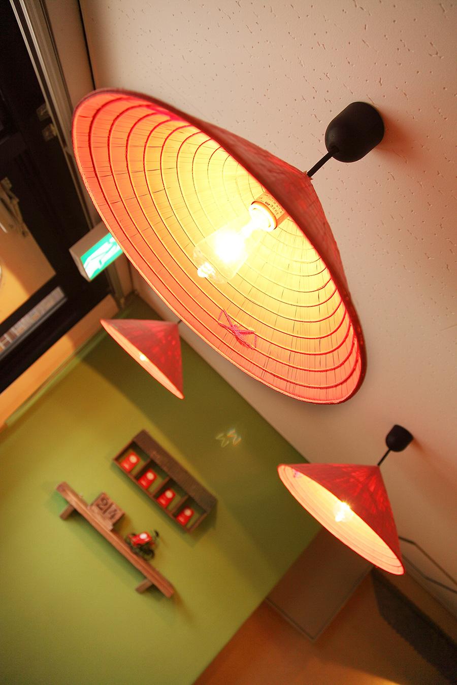 ベトナム料理店のオリジナル照明