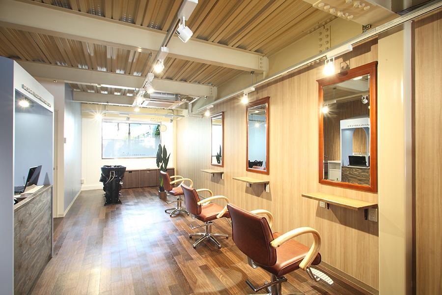 美容室の空間デザイン