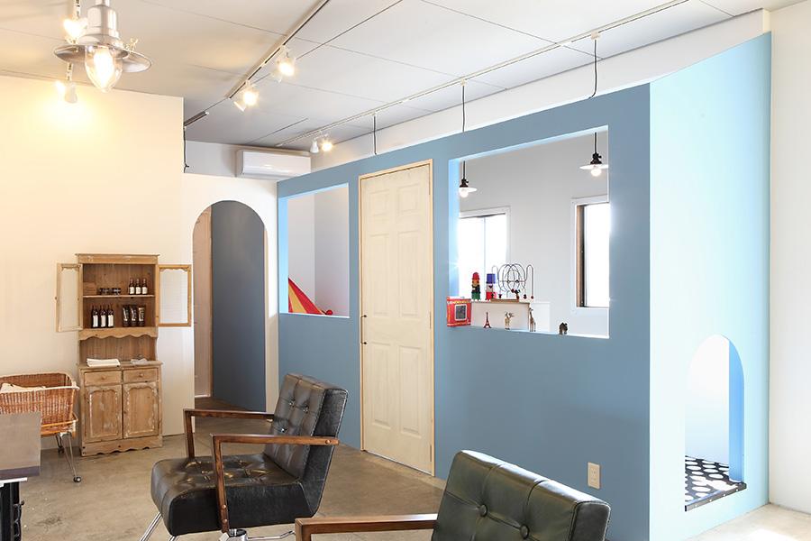 美容室のキッズスペースデザイン