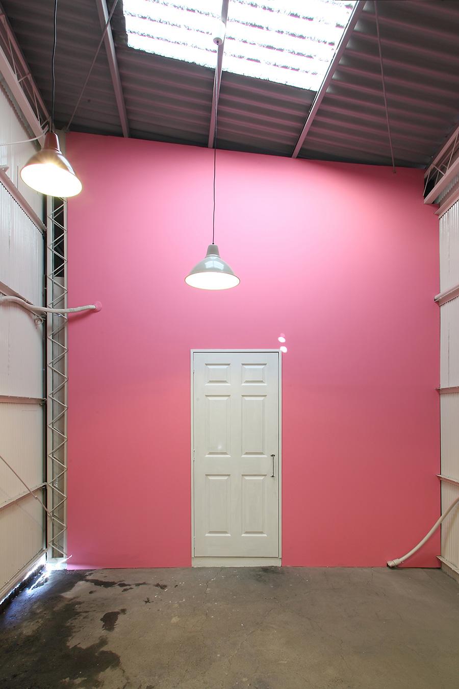 美容室のギャラリースペース