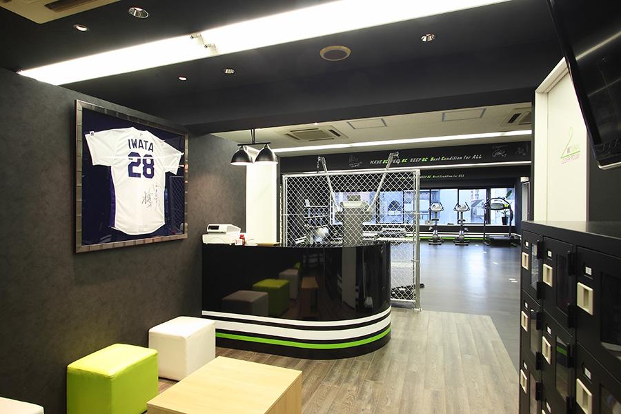 パーソナルトレーニングスタジオの店舗デザイン