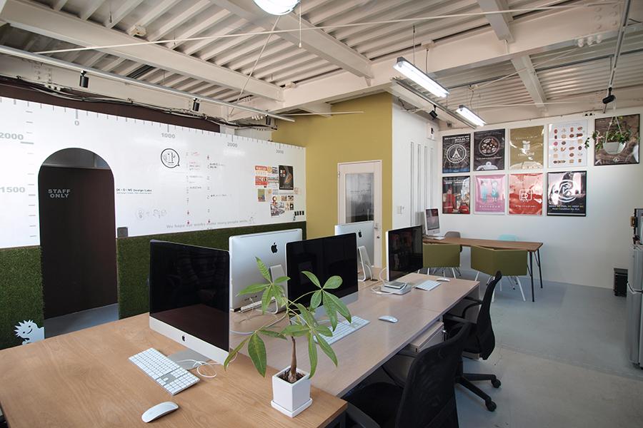デザイン事務所のオフィスデザイン_名古屋市中区新栄 コムデザインラボ