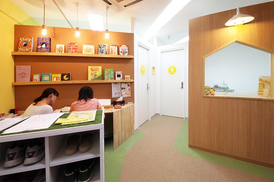 英会話教室の店舗デザイン_名古屋市いりなか POTATO CLUB杁中教室サムネイル