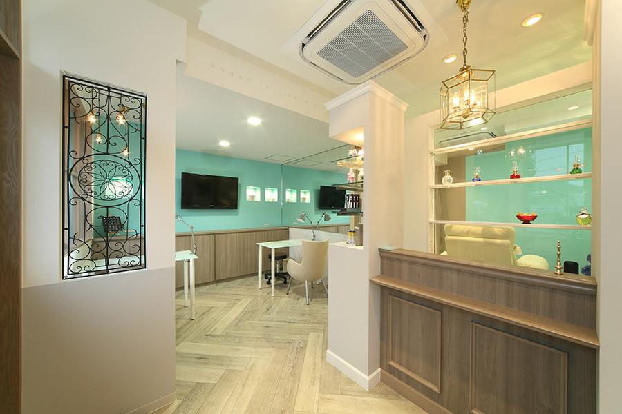ネイルサロンの店舗デザイン_愛知県豊田市 Sugar & Spiceサムネイル