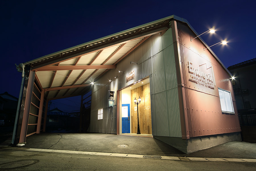 複合施設のリノベーション_ 岐阜県土岐市 Entrepôt M (アントルポ・エム)