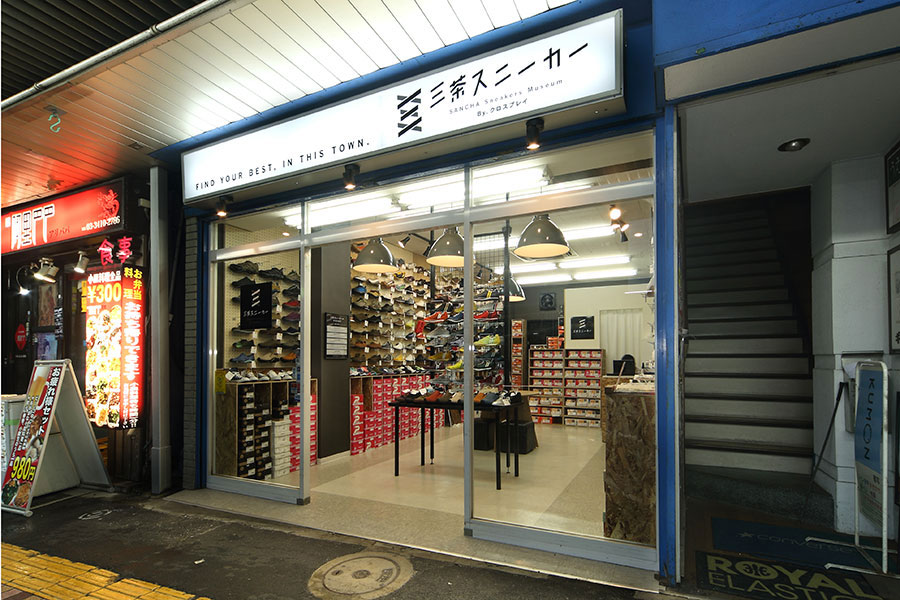 スニーカーショップの店舗デザイン