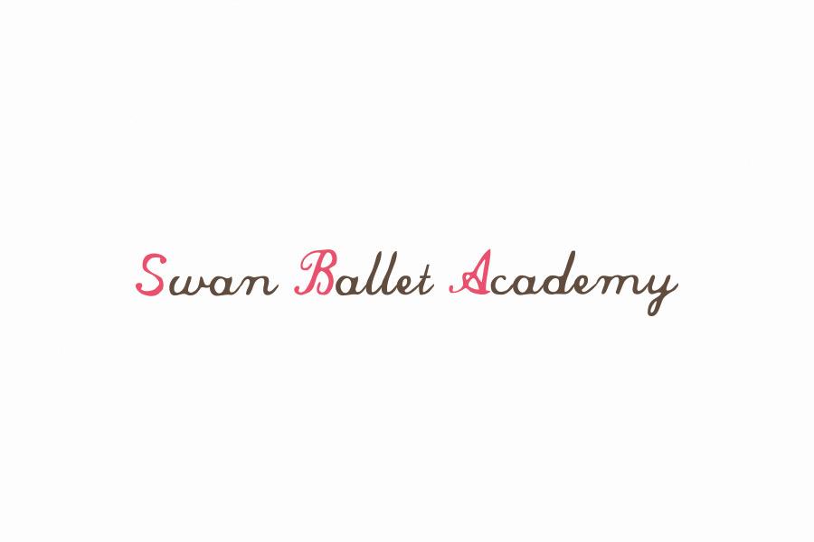 バレエスタジオのロゴマークデザイン